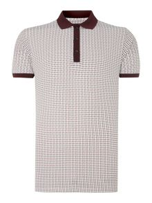 Azumi short sleeved polo shirt
