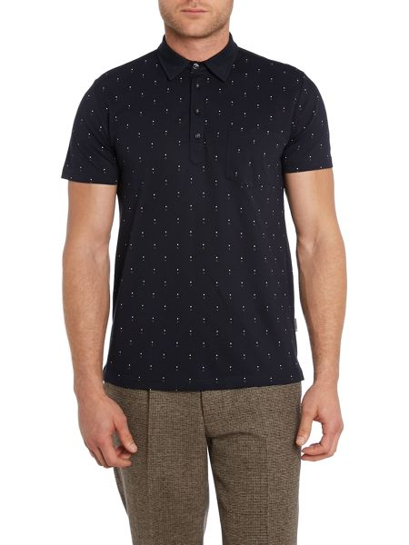 Peter Werth Jaray short sleeved polo shirt
