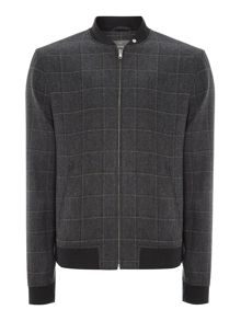 Rodgers check bomber jacket