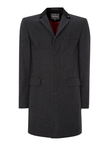 Peter Werth Cropley dogtooth topcoat