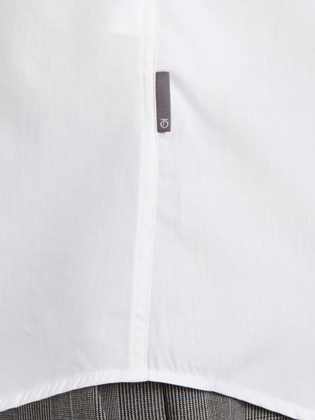 Peter Werth Antonio fly front poplin shirt