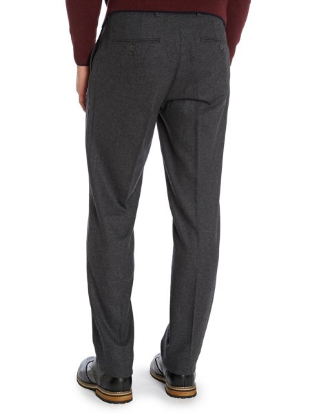Peter Werth Kurt N.1 Cut Flat Fronted Flannel Trousers