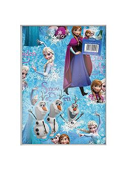 Disney Frozen 2 sheets gift wrapping paper and