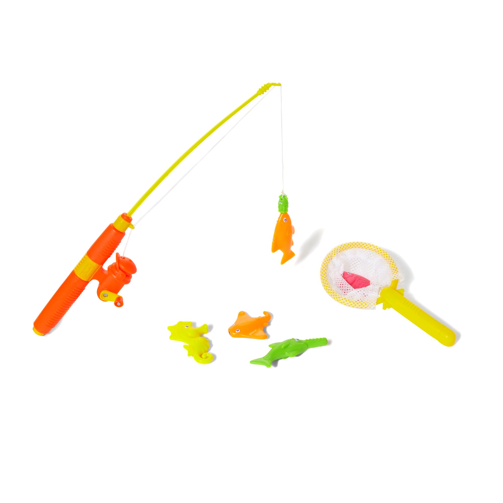 Deluxe fishing game