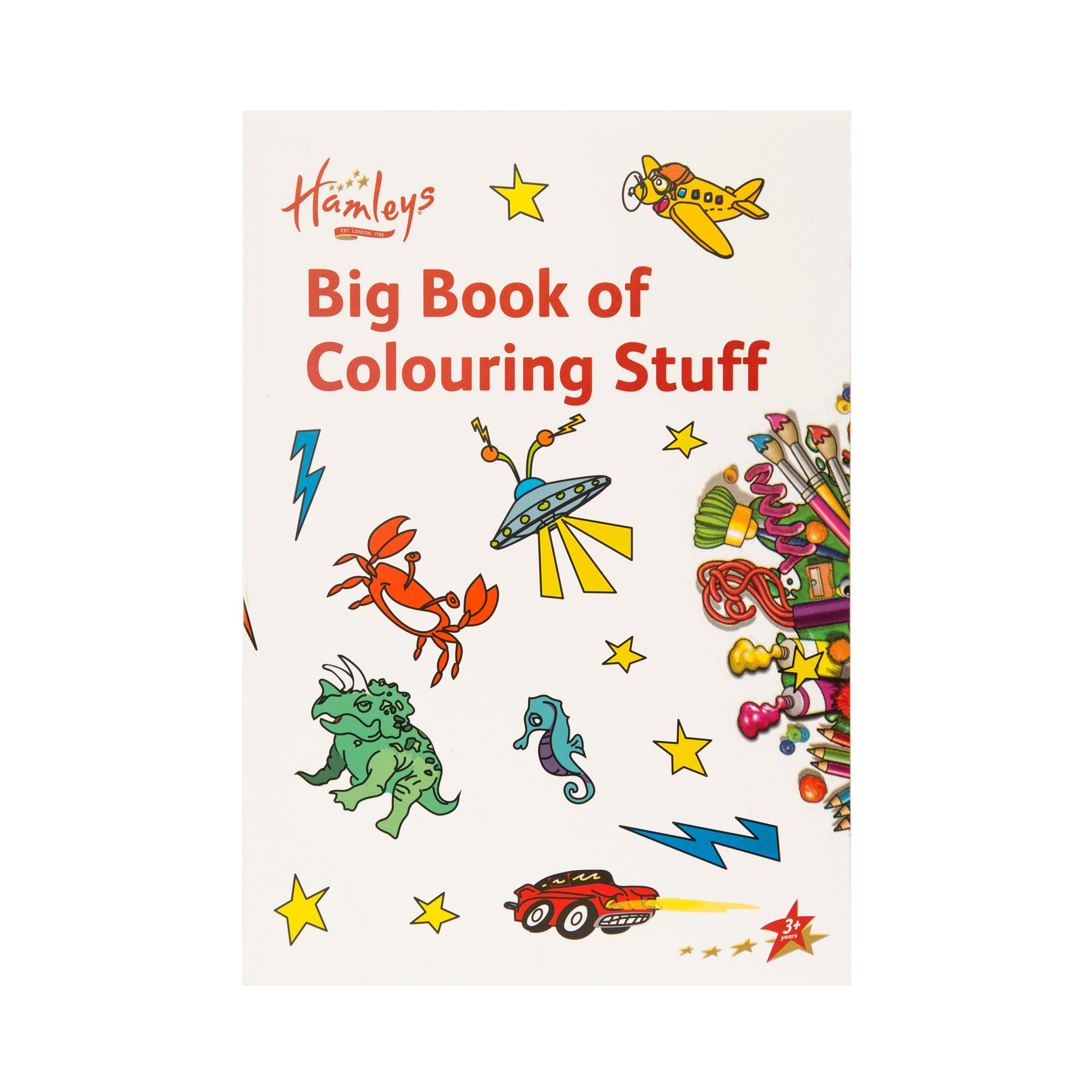 Hamleys Big Book Of Colouring