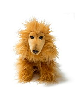 Afghan Hound Soft Toy