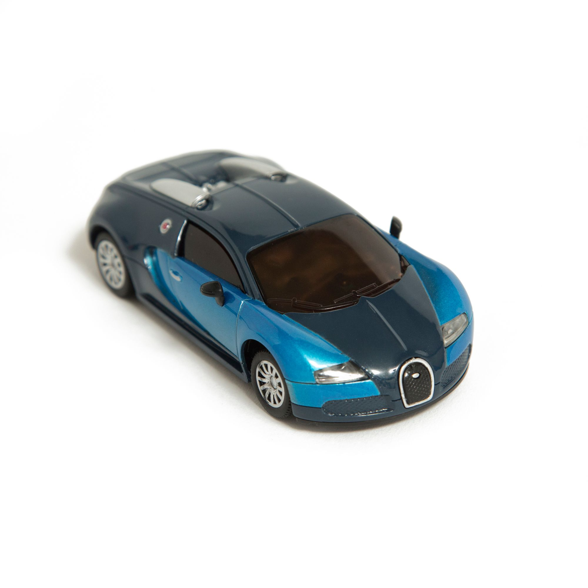 Image of Hamleys Blue Mini Bugatti Veyron IR Car, Blue