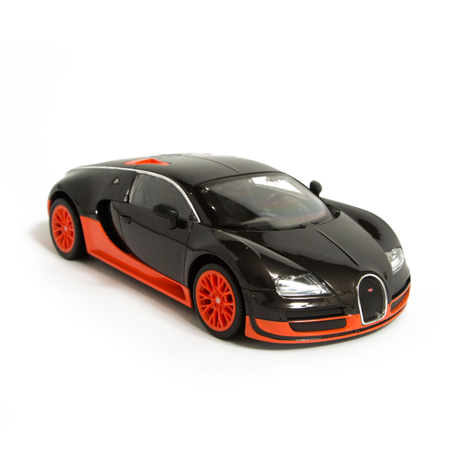 Image of Hamleys Orange Bugatti Veyron RC Car, Orange
