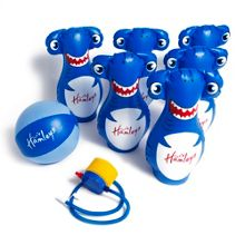 Hamleys Inflatable Shark Bowling