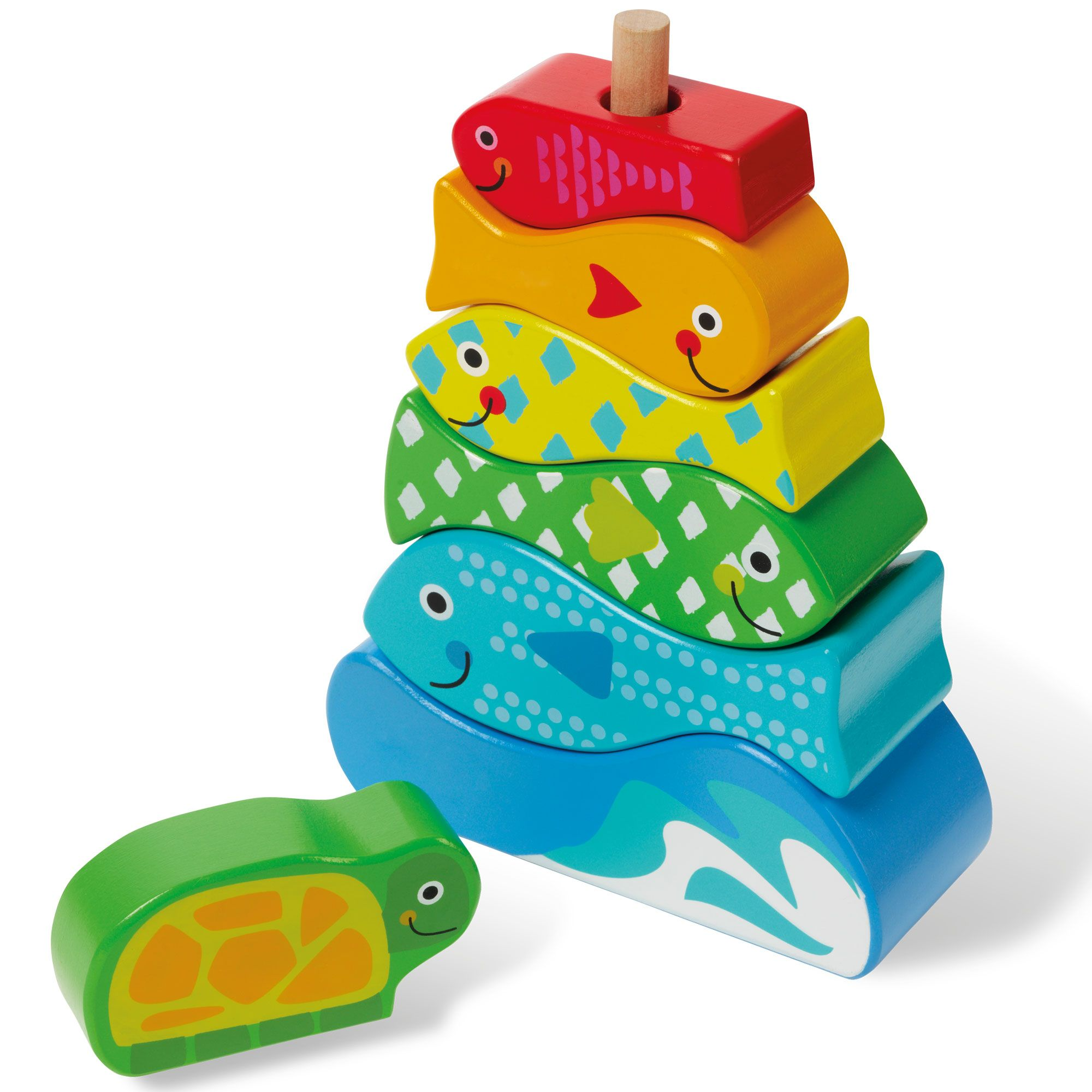 Hamleys my stacking fish