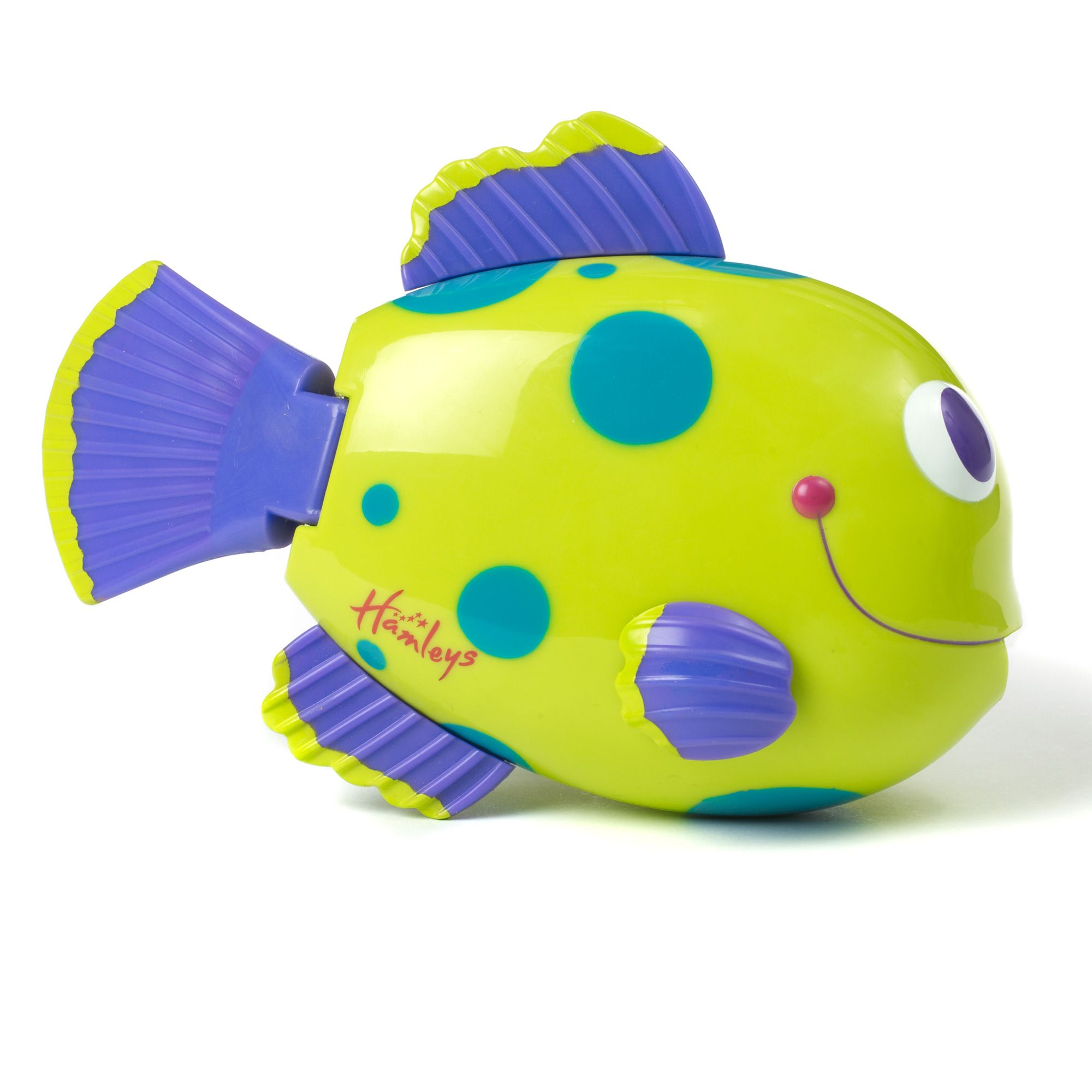 Splash and swim fish bath toy