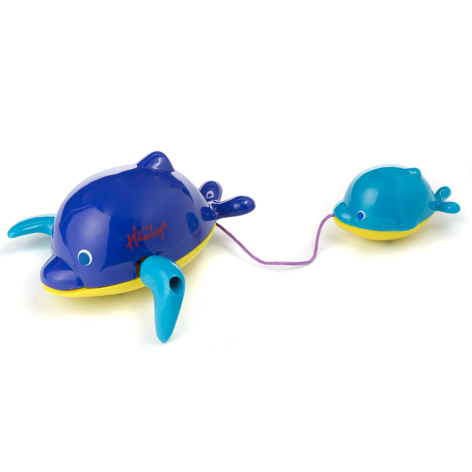 Twist and swim dolphin bath toy
