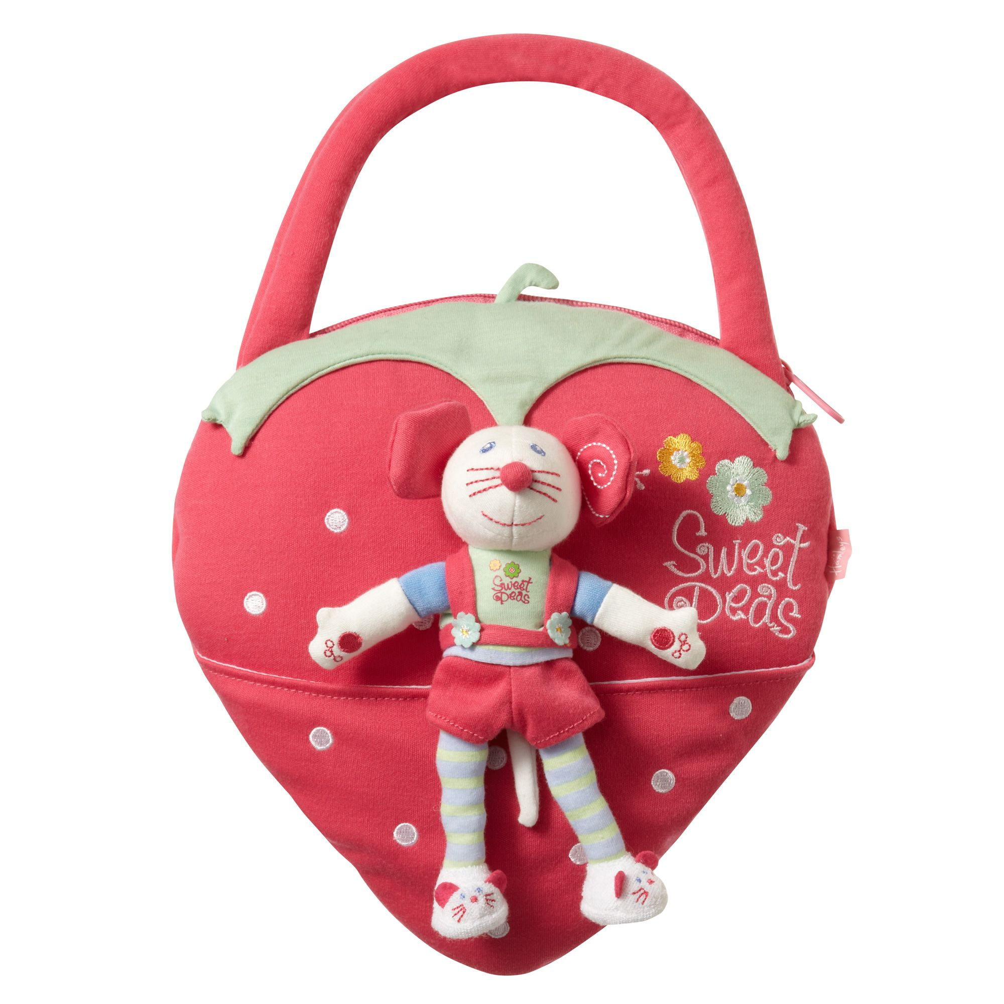 Hamleys mossy mouse handbag