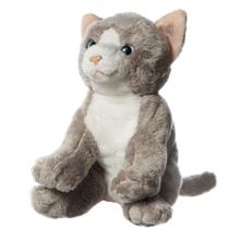 Hamleys Grey and White Cat