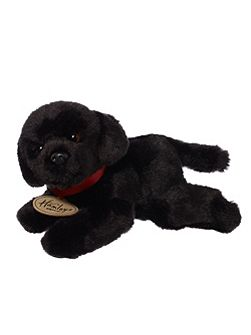 Hamleys Hamleys Small Black Labrador Soft Toy
