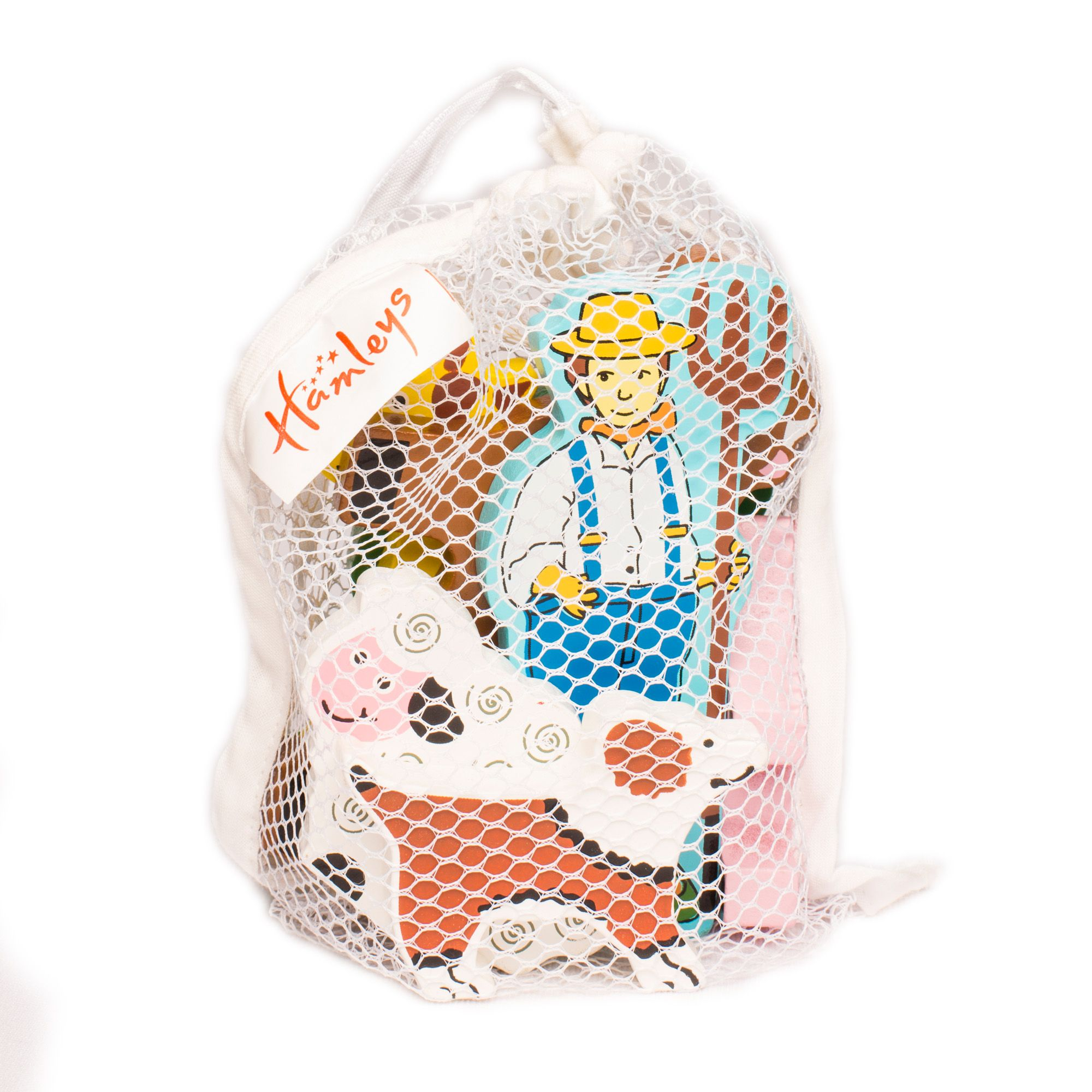 Hamleys Mini Farm Animals Bag