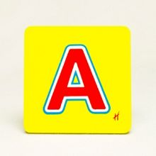Hamleys Wooden Letter A