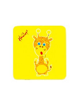 Hamleys Wooden Giraffe Plaque