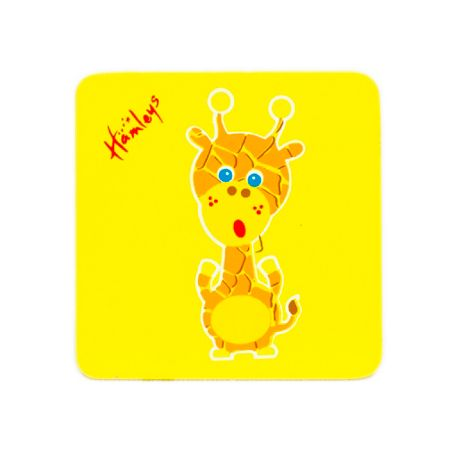 Hamleys Hamleys Wooden Giraffe Plaque