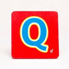 Hamleys Wooden Letter Q