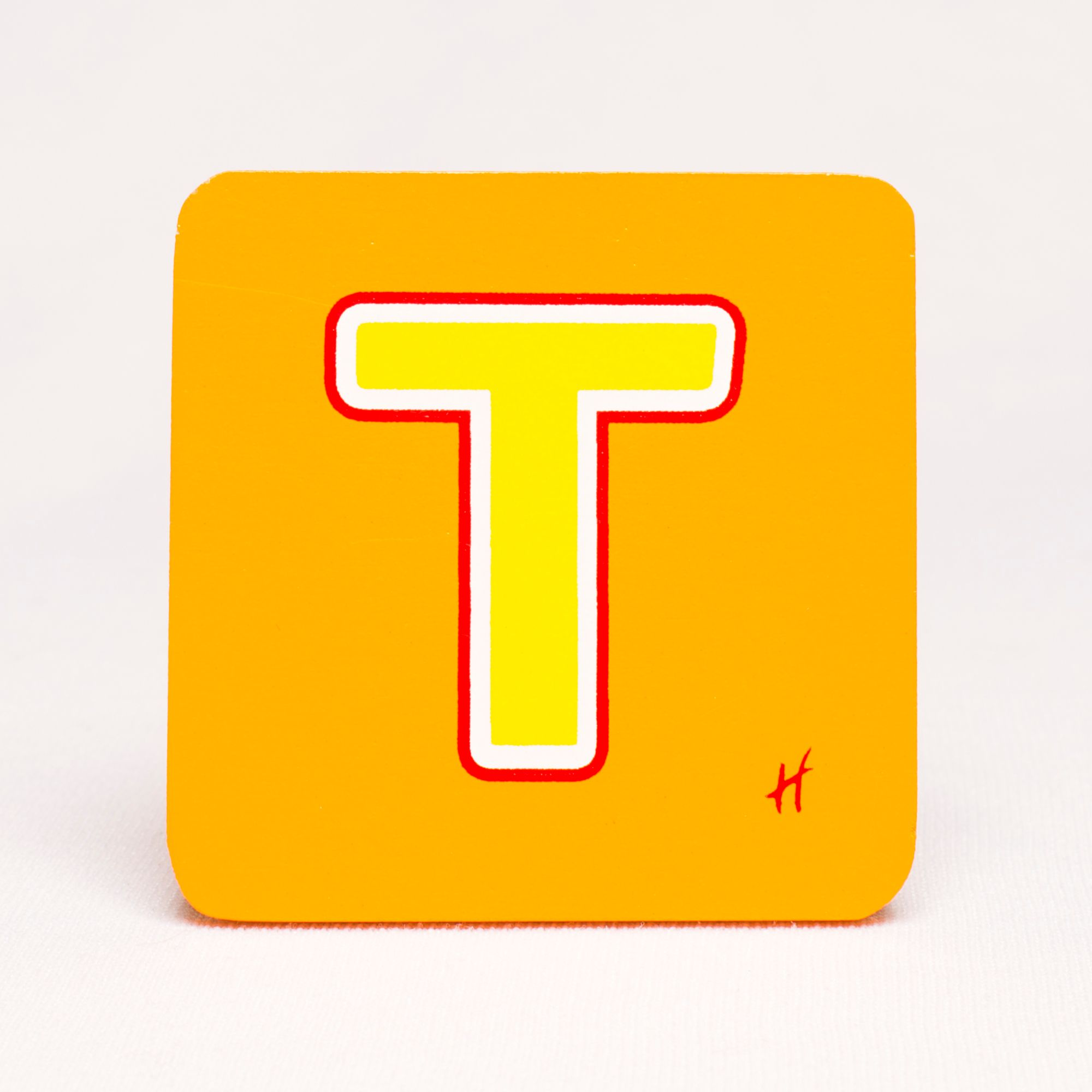Hamleys Wooden Letter T