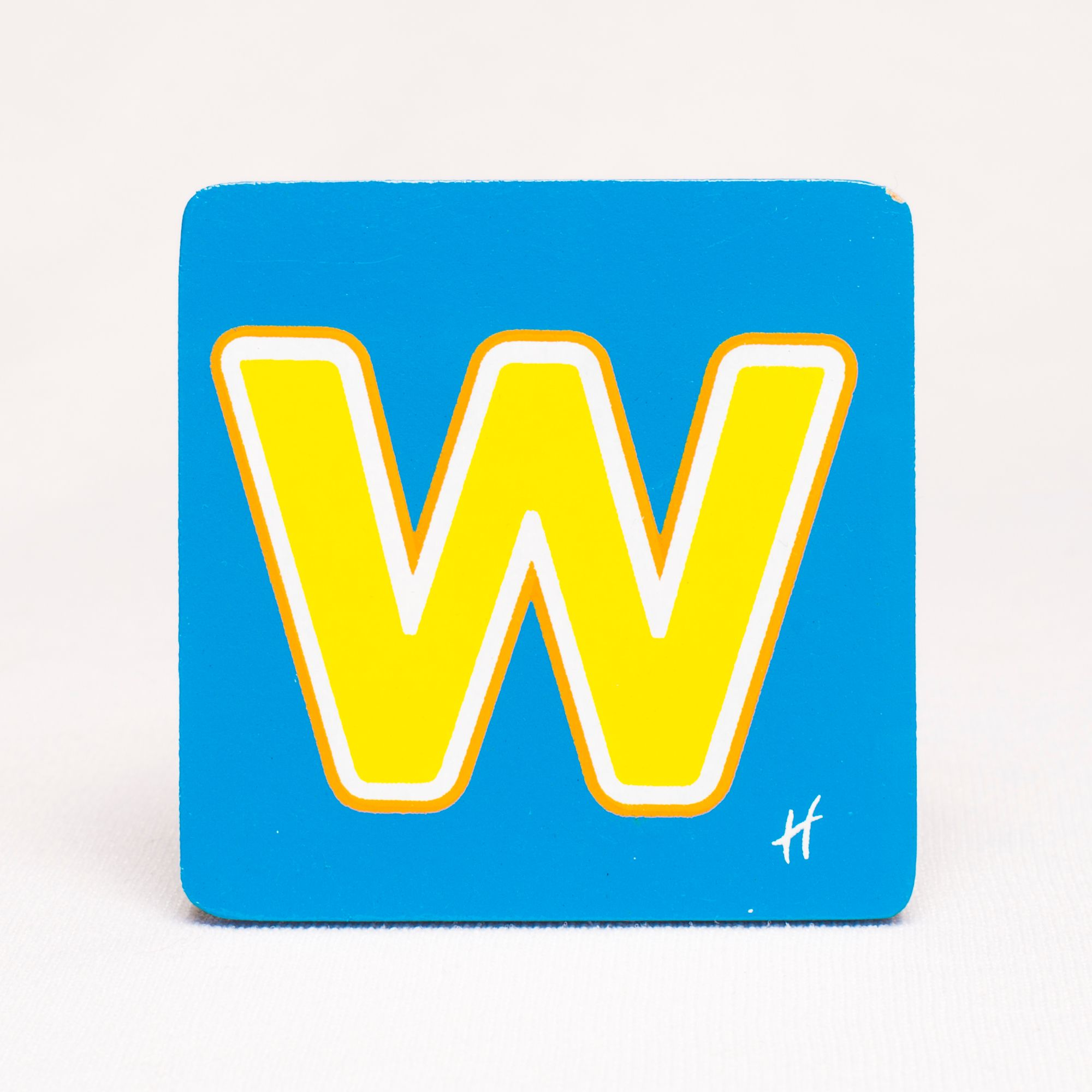 Hamleys Wooden Letter W