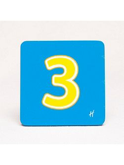 Hamleys Wooden Number 3