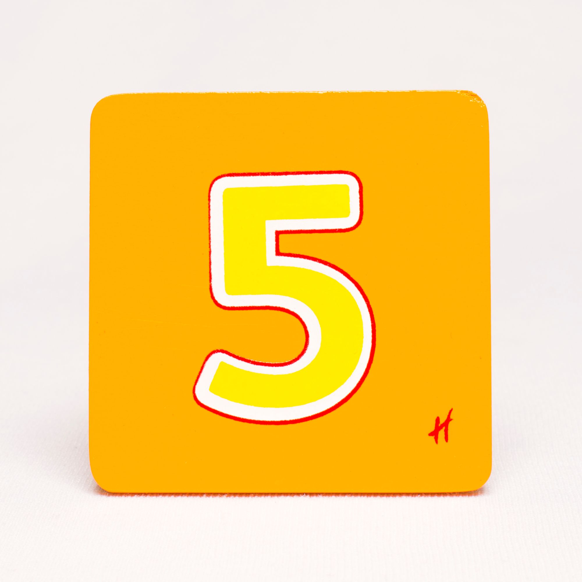 Hamleys Wooden Number 5