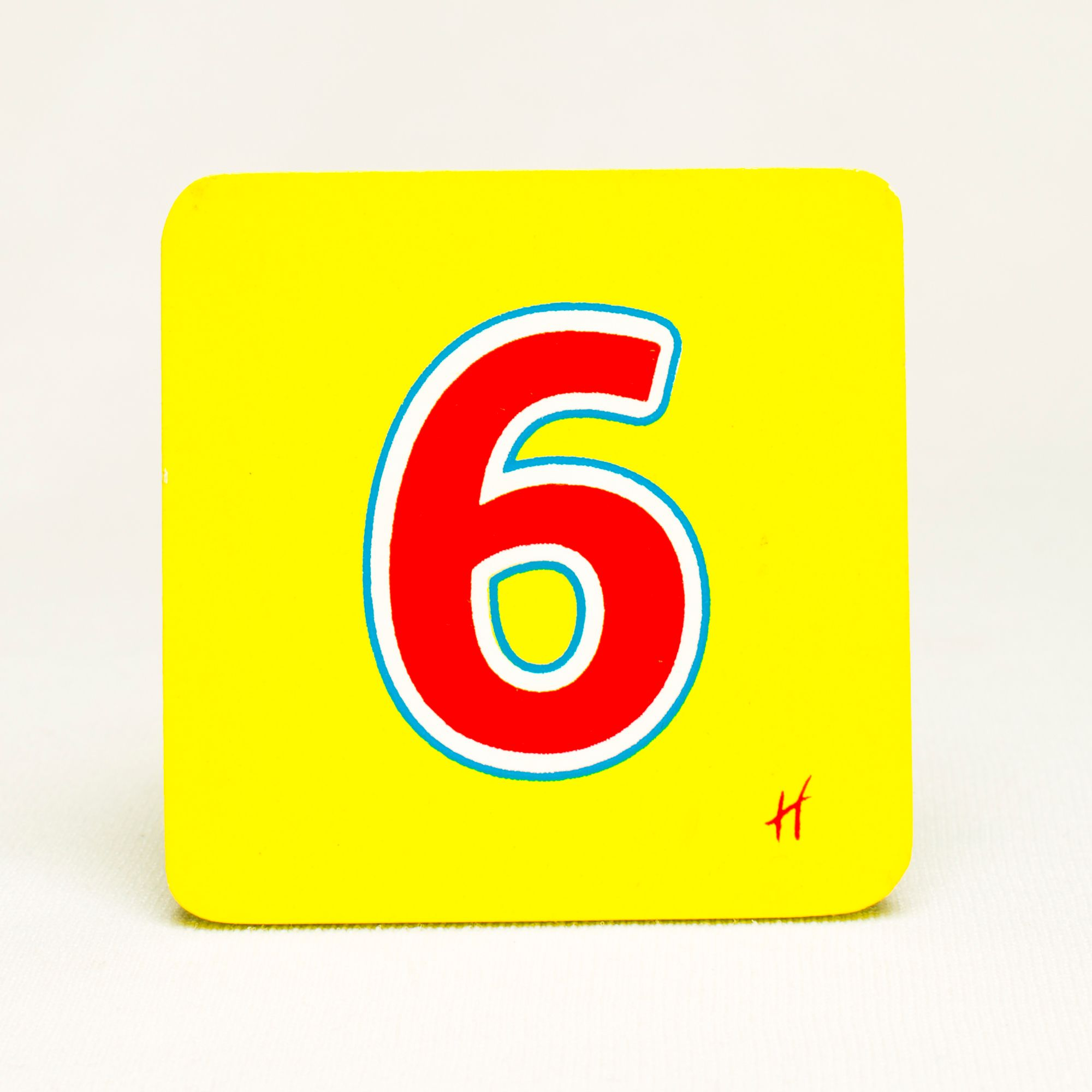 Hamleys Wooden Number 6