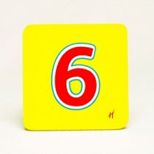 Hamleys Hamleys Wooden Number 6