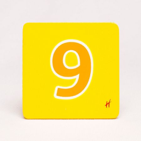 Hamleys Hamleys Wooden Number 9
