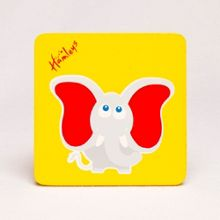 Hamleys Hamleys Wooden Elephant Plaque
