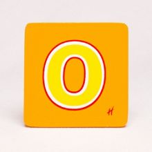 Hamleys Wooden Letter O