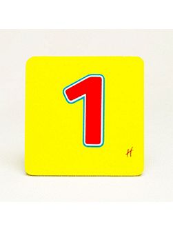 Hamleys Wooden Number 1