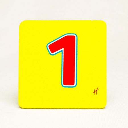 Hamleys Hamleys Wooden Number 1