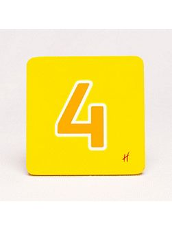 Hamleys Hamleys Wooden Number 4