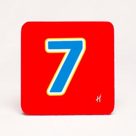 Hamleys Hamleys Wooden Number 7