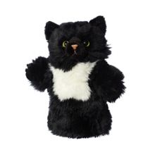 Hamleys Black Cat Hand Puppet