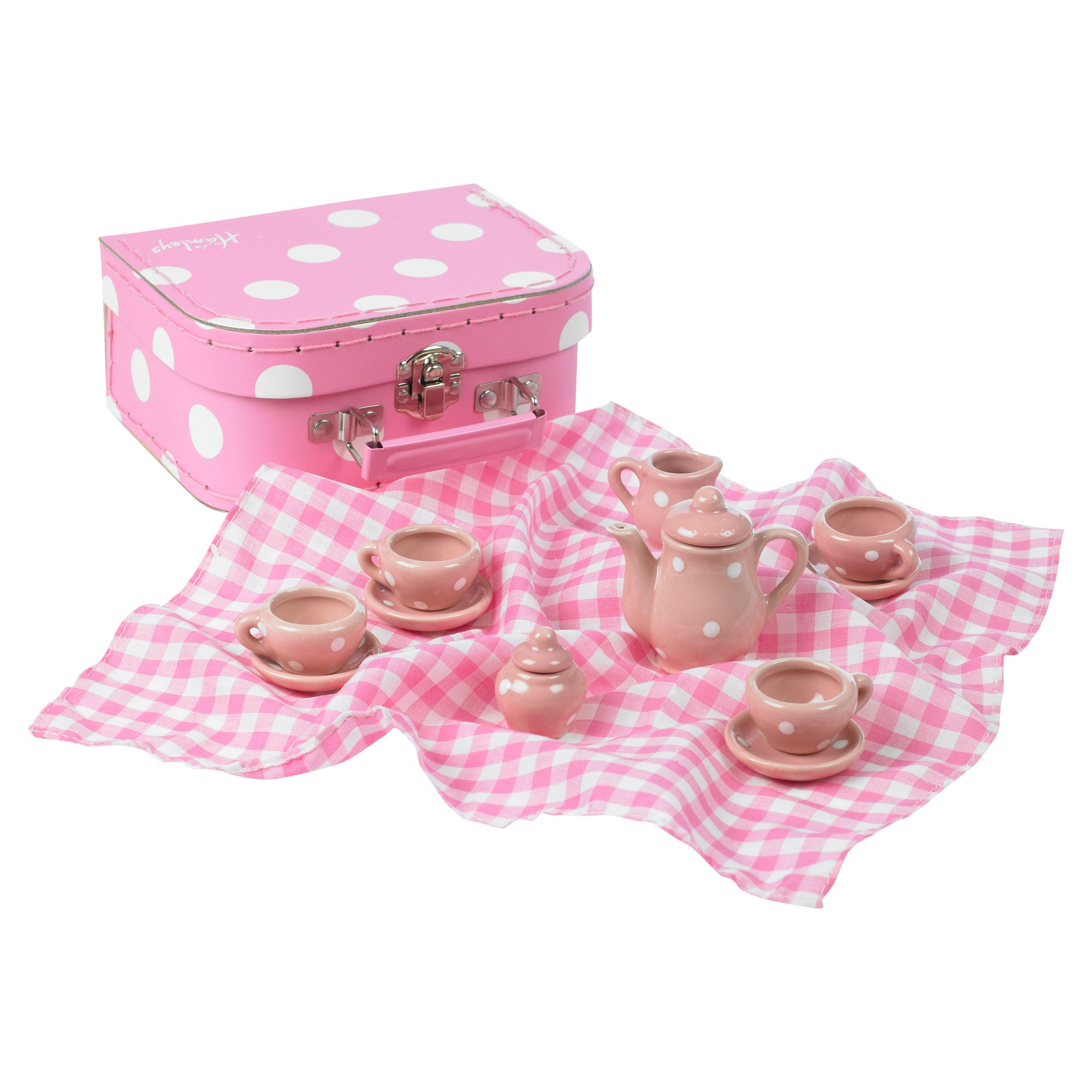 My first dolly tea set