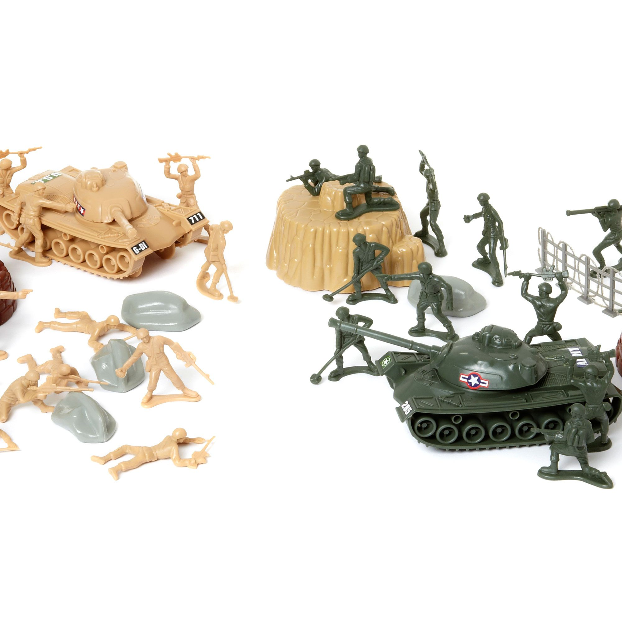 Army force 80 piece set