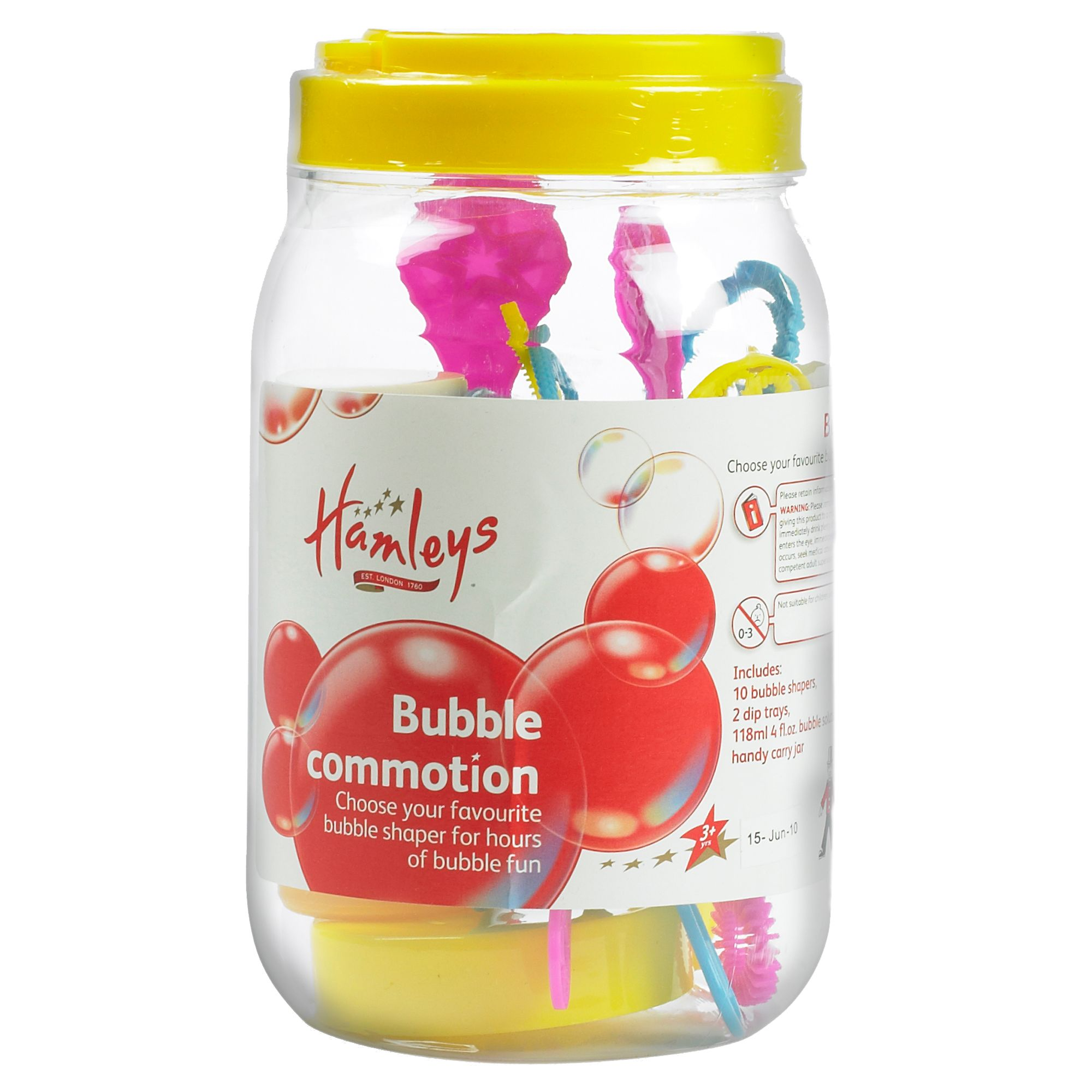 Hamleys bubble commotion jar