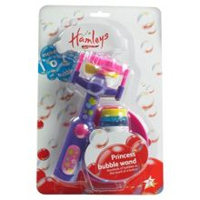 Hamleys Princess bubble wand