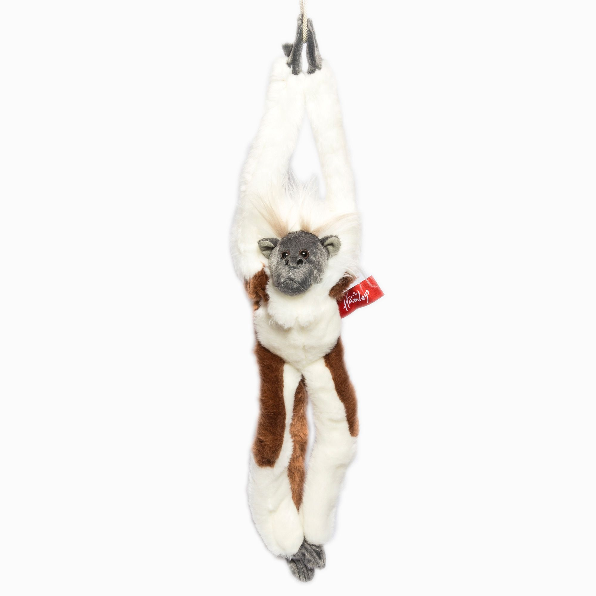 Hamleys Climbing Primates White/Brown