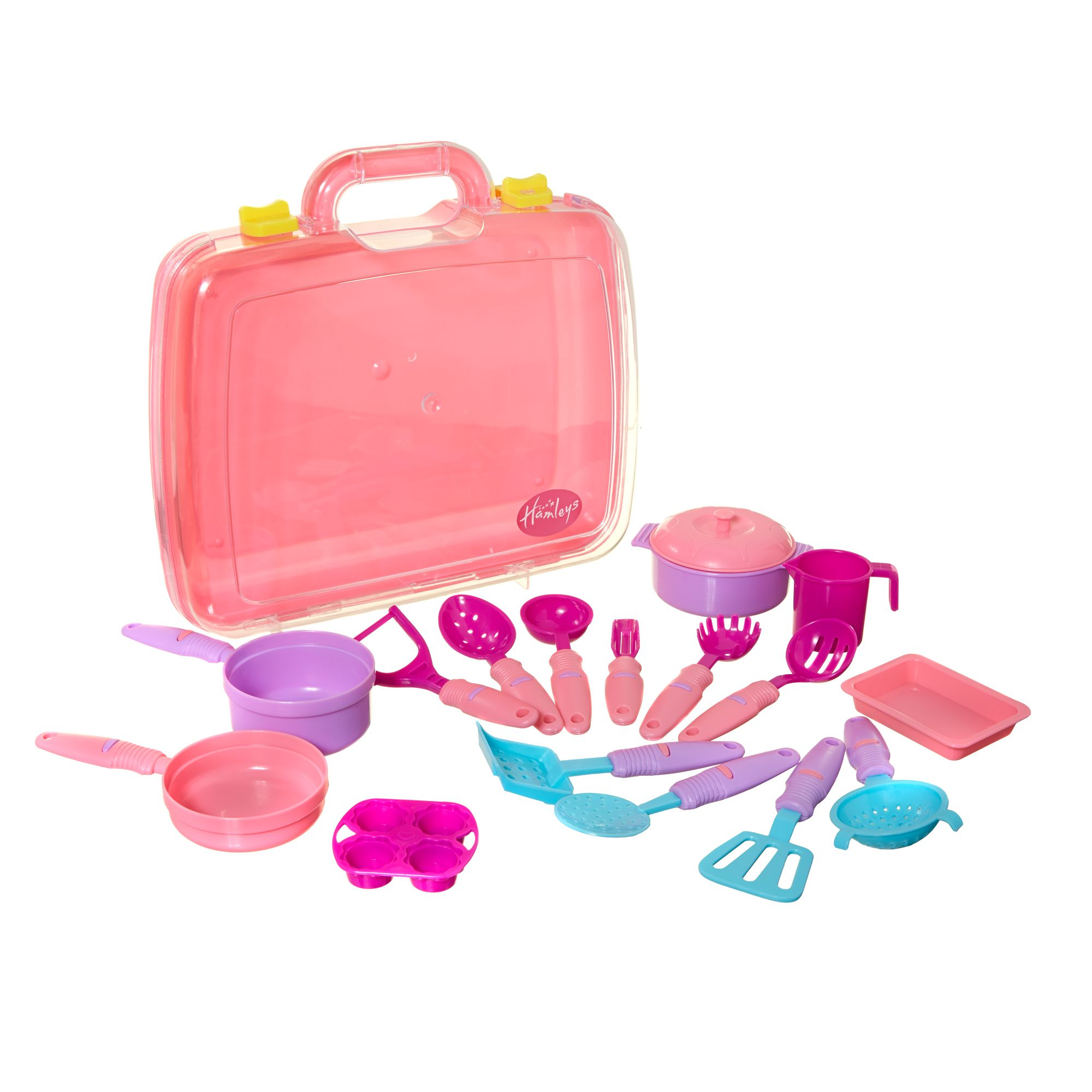 Hamleys Pink Cooking Case