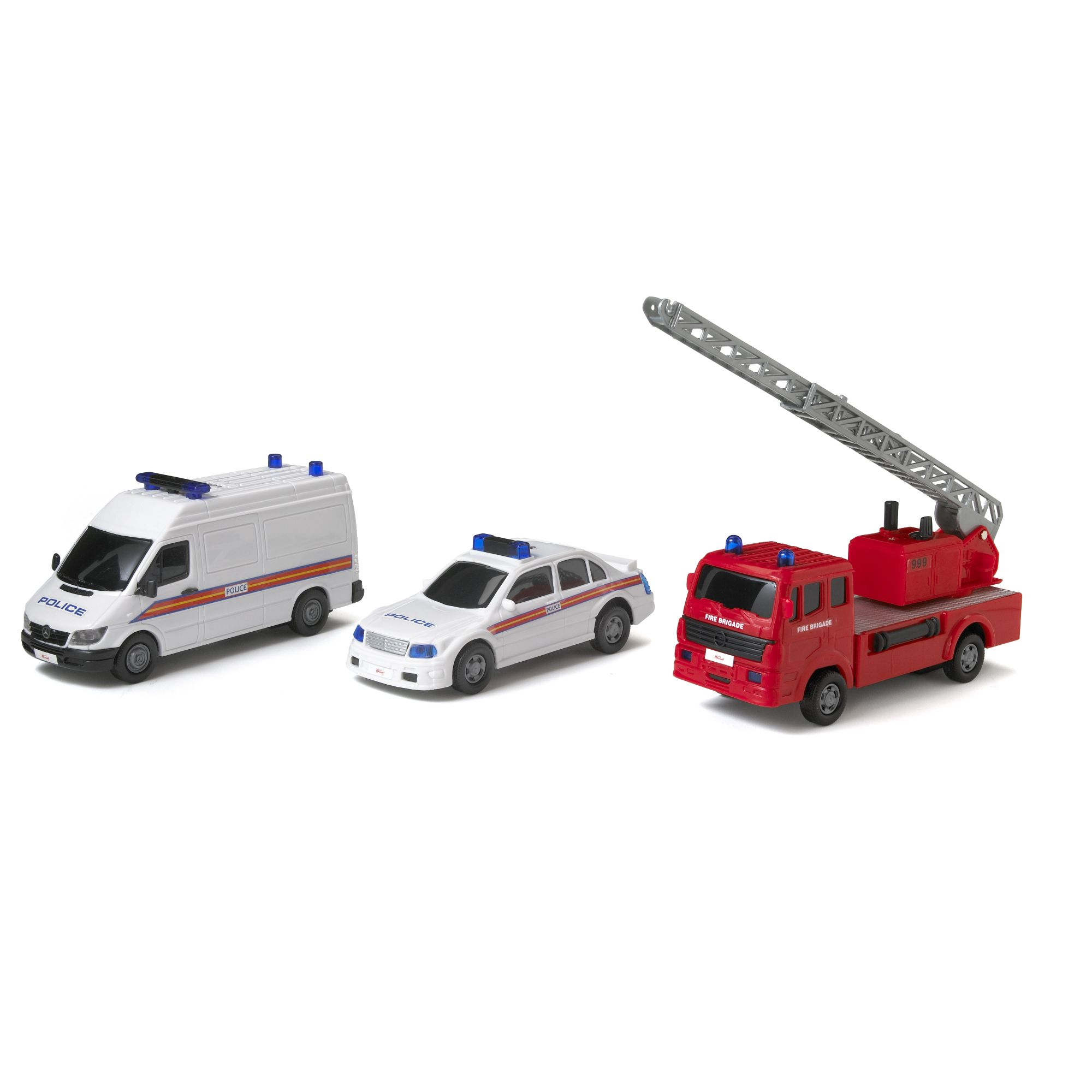 Emergency vehicle 3pack