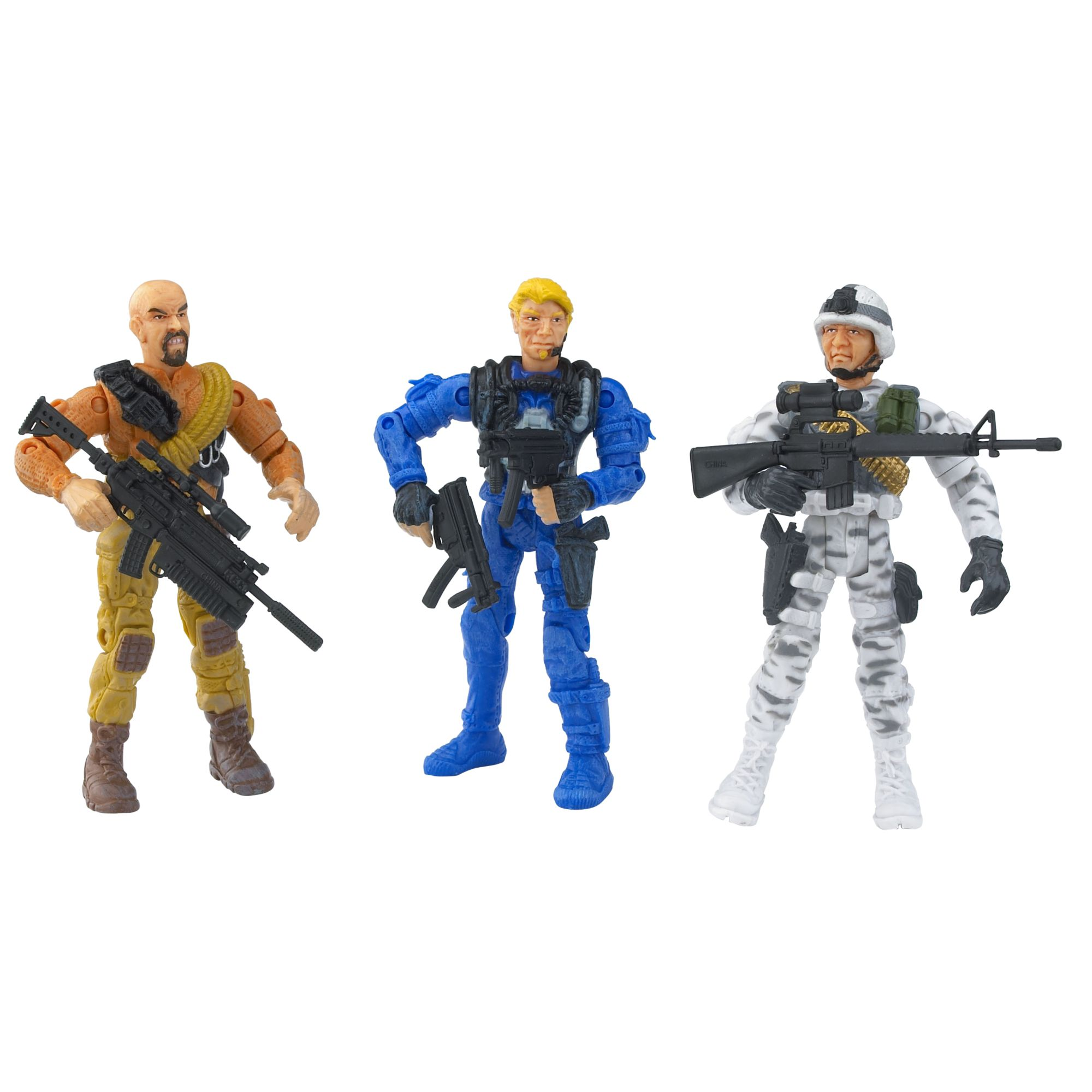 Hamleys pack of 3 soldiers