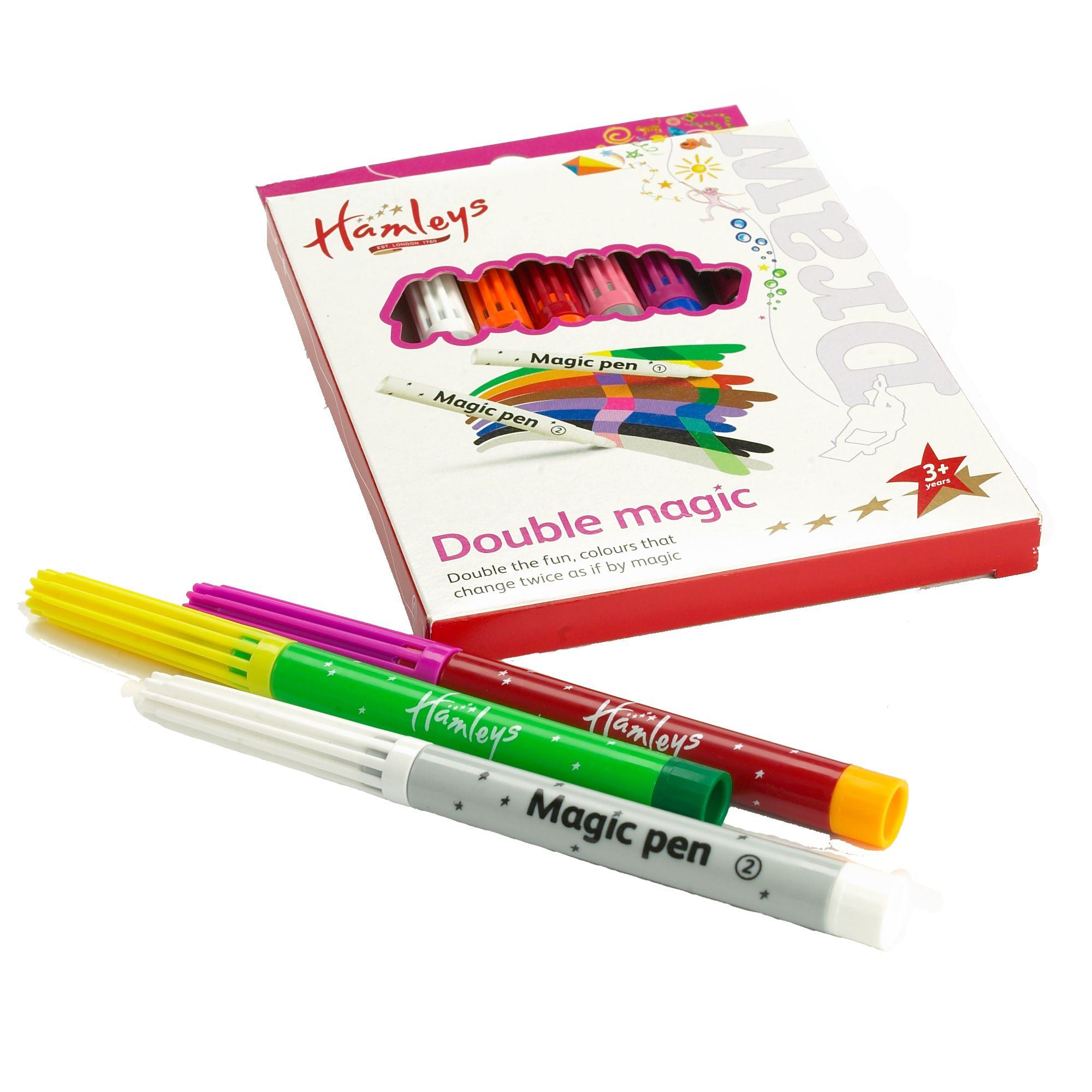 Double magic pens