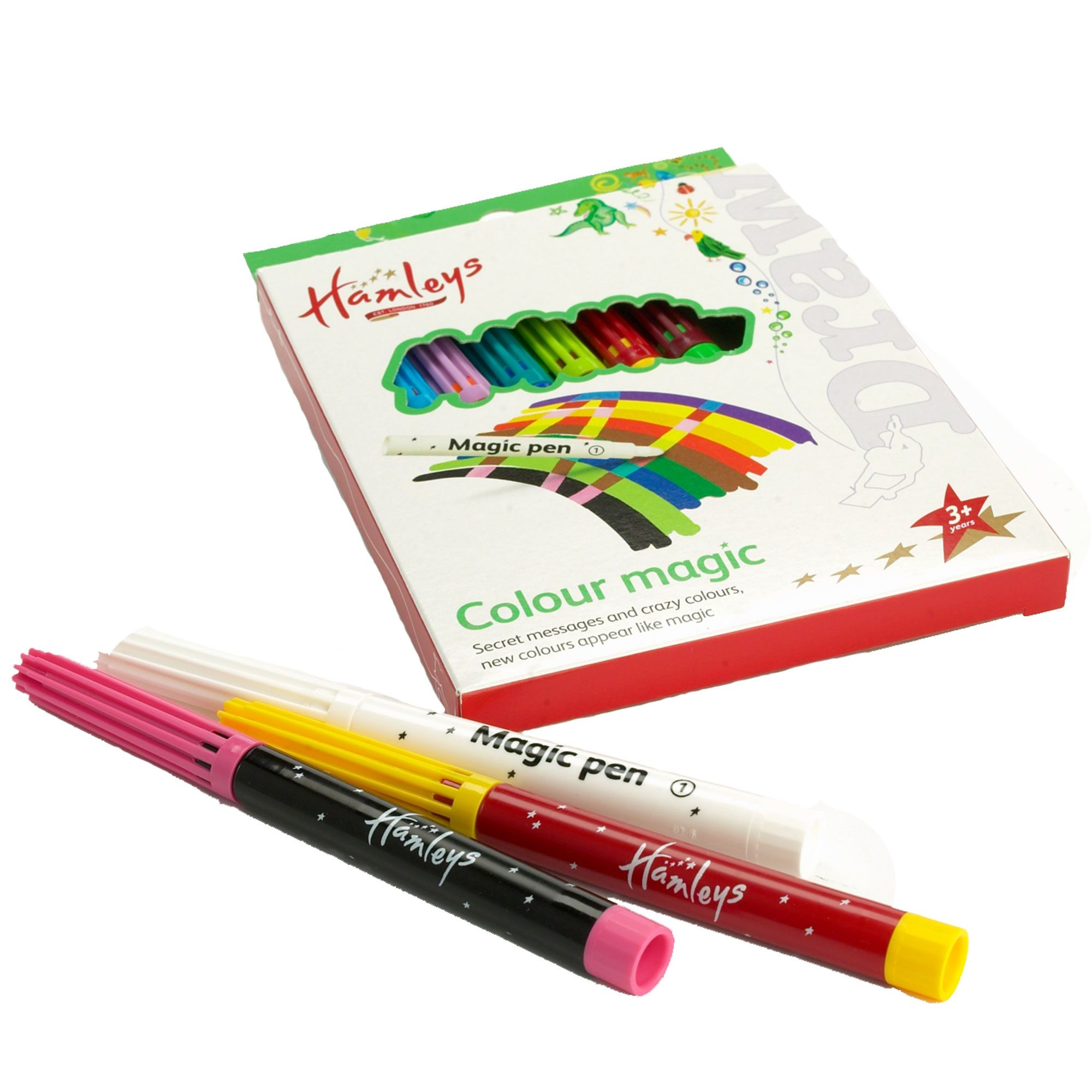 Colour magic pens