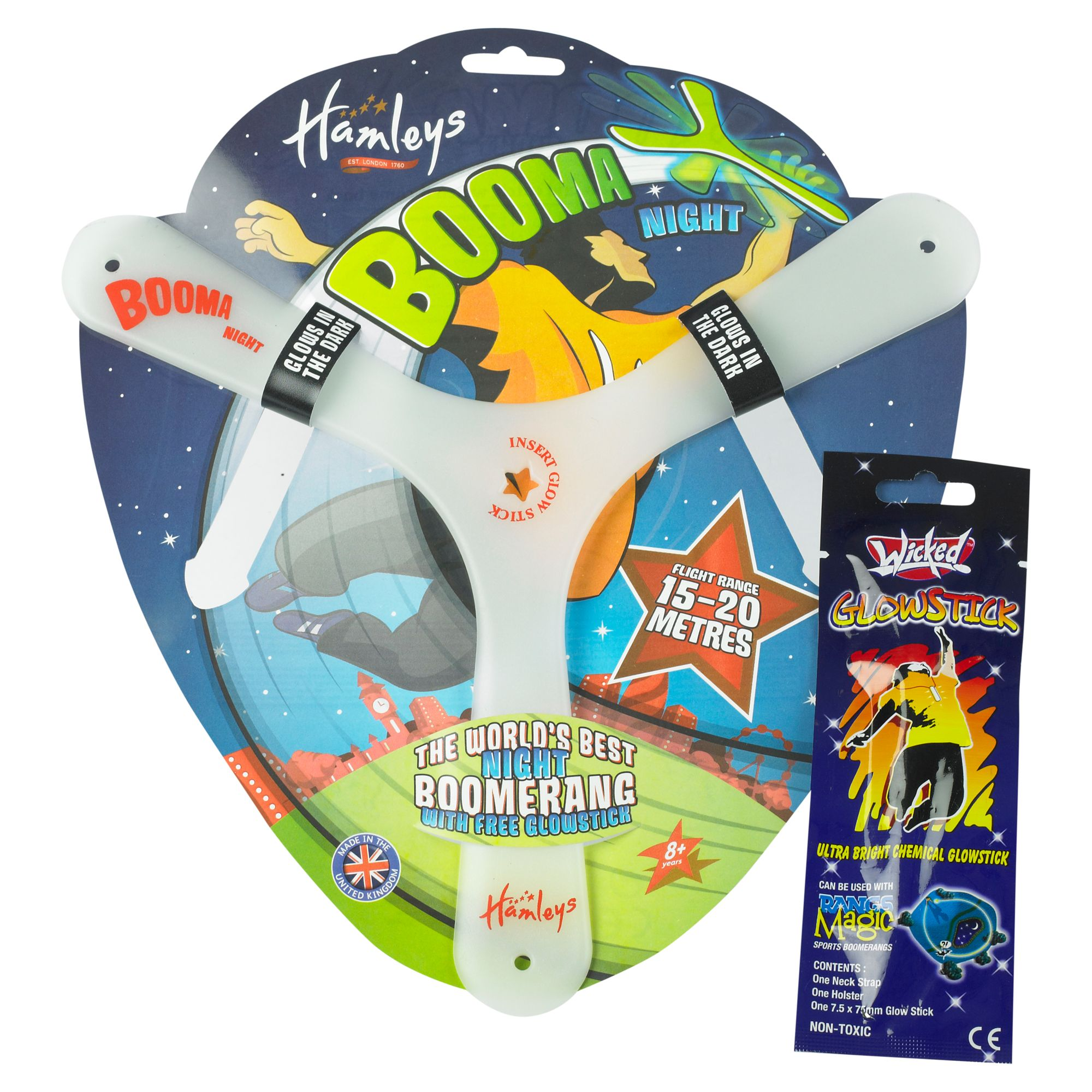 Hamleys Booma Night Boomerang