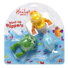 Wind-up flippers